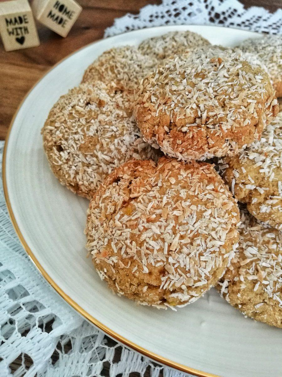 Bocconcini integrali al cocco - Non Chiamatela Dieta