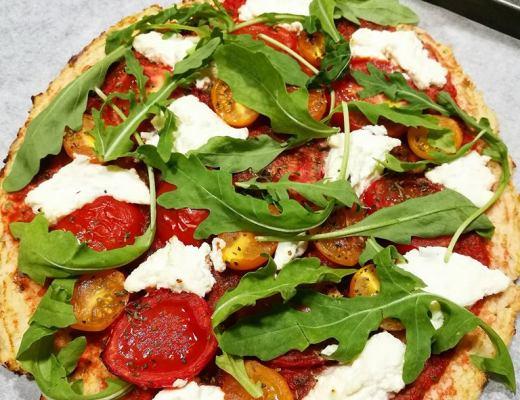 Pizza di cavolfiore - Non Chiamatela Dieta