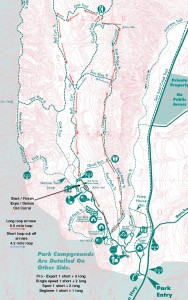 Challenge course Map