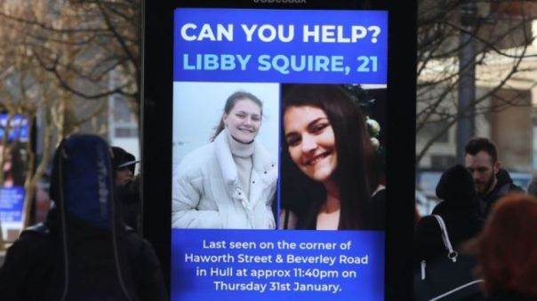 Libby Squire has been missing for more than a week
