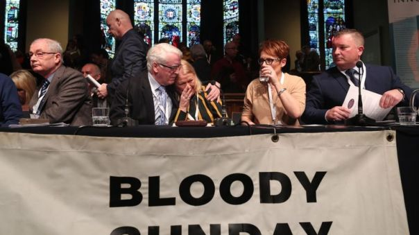 The families of those killed or injured on Bloody Sunday said they were 'disappointed'