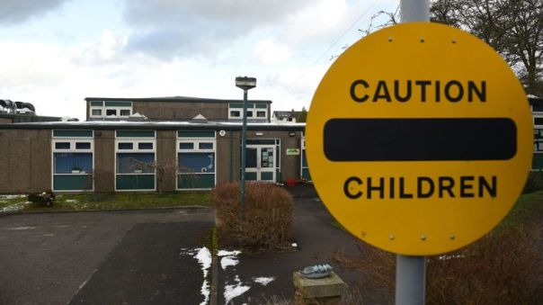 Burbage primary school in Buxton will be closed until Monday