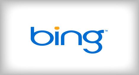 Bing logo design