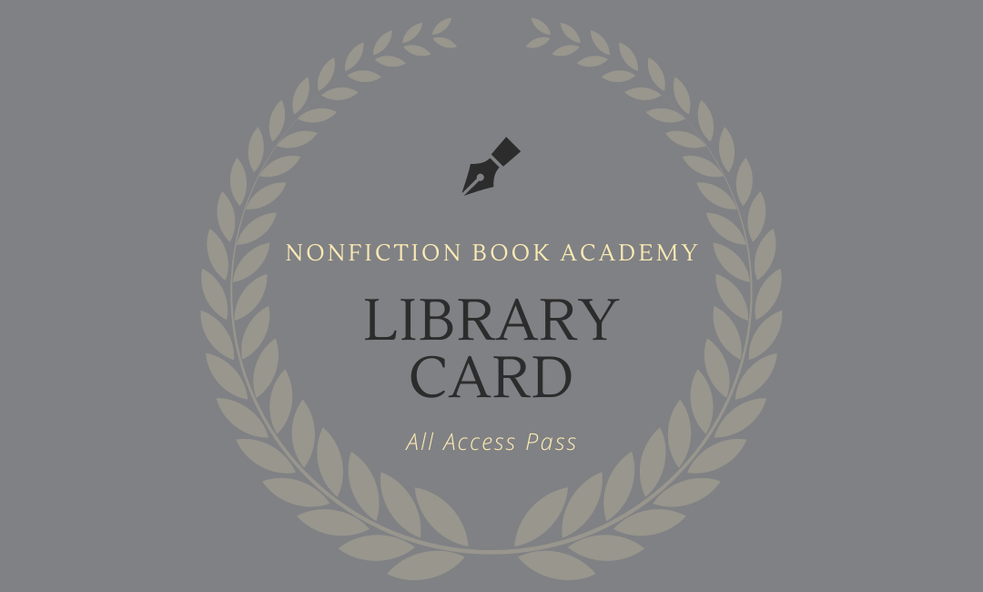 nonfiction book academy library card