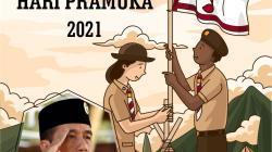 Twibbon Hari Pramuka Keren 2021