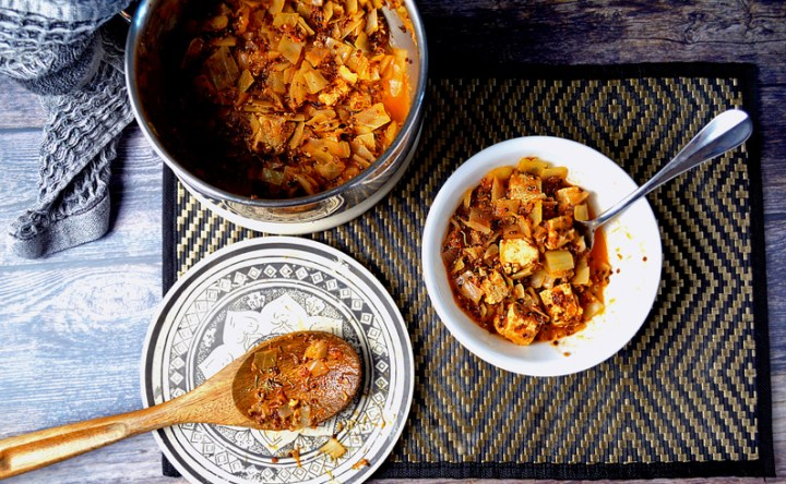 The absolute best cabbage stew