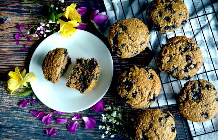 Blueberry Lemon Breakfast Muffins