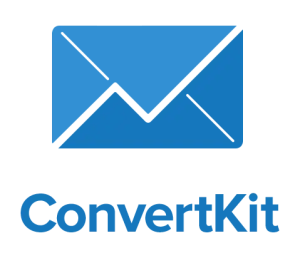 ConvertKit logo email marketing for bloggers pay as you grow