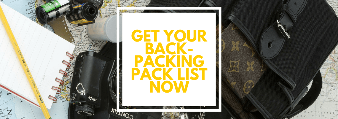 Get your backpacking travel packing list for digital nomads now (1)