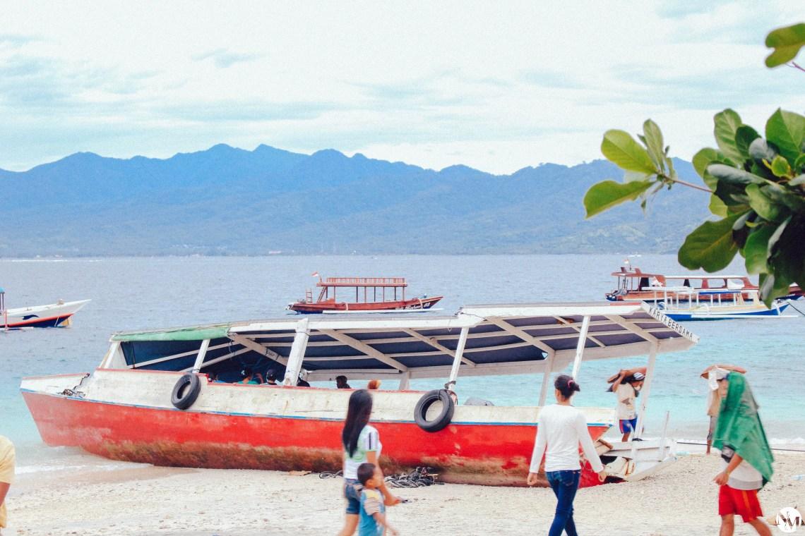 Gili Island Destroying Storm Indonesia