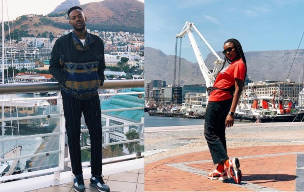 Simi and Adekunle Gold honeymoon in Cape Town (See Photos)