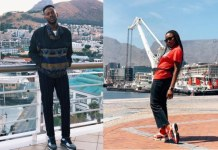 Simi and Adekunle Gold honeymoon in Cape Town
