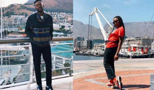 Simi and Adekunle Gold honeymoon in Cape Town