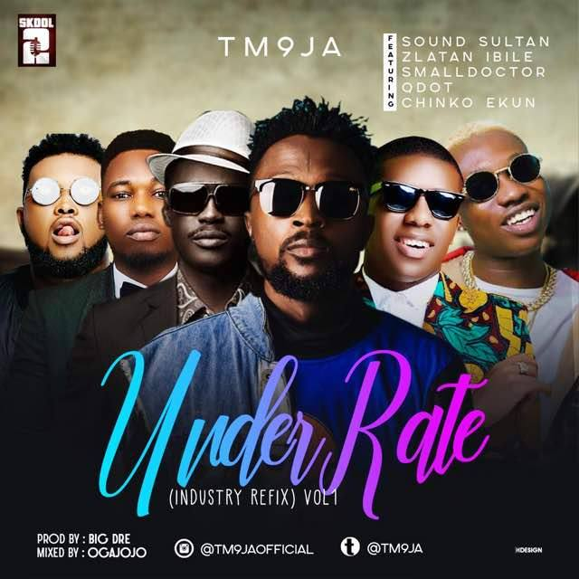 Music] TM9JA ft. Sound Sultan, Small Doctor, Chinko Ekun, Qdot & Zlatan – Underrated (Refix)