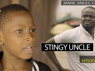 "he Mark Angel Comedy unleash this week's piece of comedy video off their weekly comedy video series on this episode titled Stingy Uncle, and as usual, it's comes so funny. In this very funny video ""Stingy Uncle"" which is the 224th episode of the Mark Angel Comedy, Chukwuemeka is back and in this video. This funny African comedy will make you laugh. Chukwuemeka has done it again, this time he finishes stingy uncle with his antic."