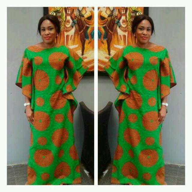 Ankara Gown Styles 4
