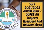 Sure 2021 JUPEB Runz