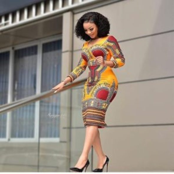Ankara Gown Styles 6