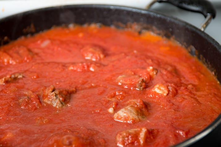 tomato sauce tomato sauce with pork shoulder nonnas way