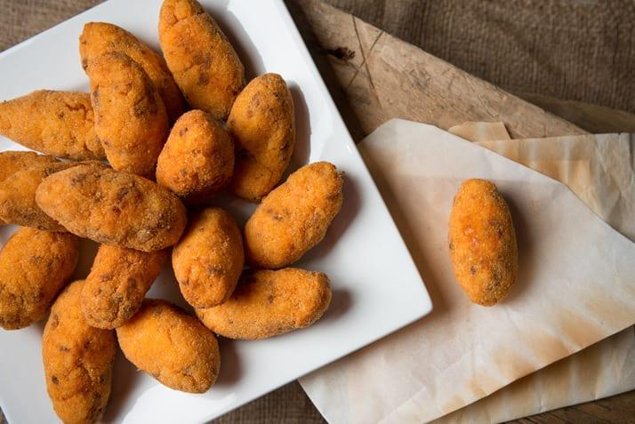 prepared arancini