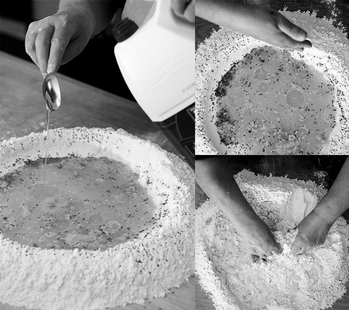 making the dough