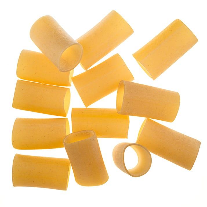 artigianal rigatoni pasta