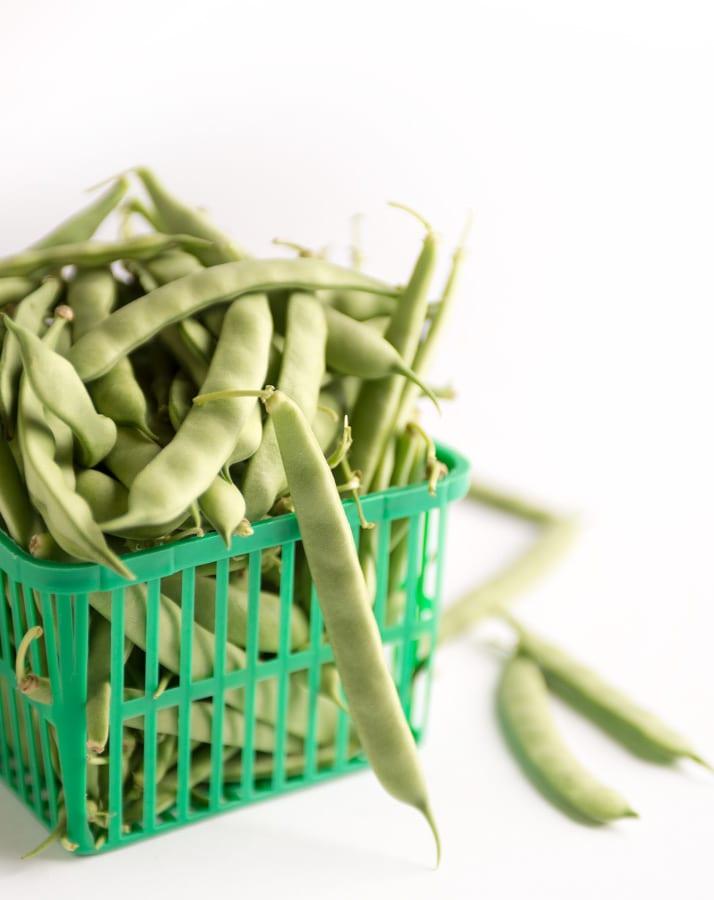 fresh-italian-green-romano-beans