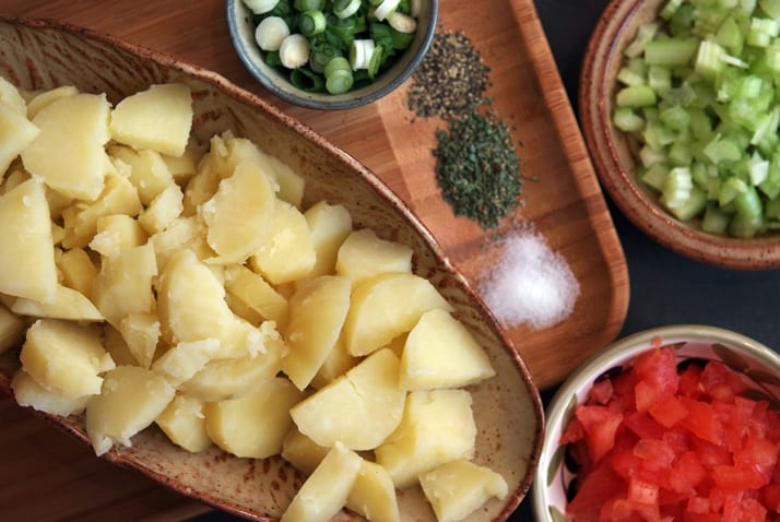 potato-salad-fixings