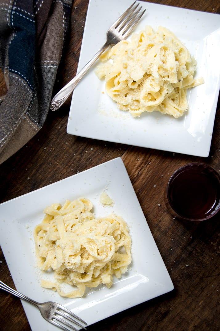 cheesy italian cauliflower pasta recipe