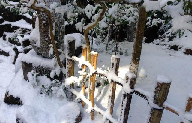 雪の三滝寺に行って来ました①