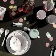 Done by Deer Dots Zestaw Obiadowy Różowy4