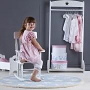 Kids Concept Krzesełko Bujane z Gwiazdkami Różowe4
