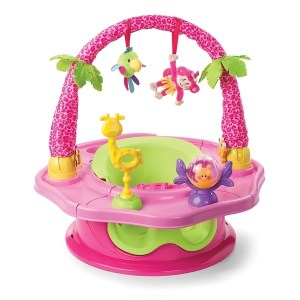Summer Infant Siedzisko SuperSeat ® Deluxe Island Giggles Pink1