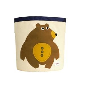 3 Sprouts Kosz Na Zabawki Niedźwiedź1 - Kopia