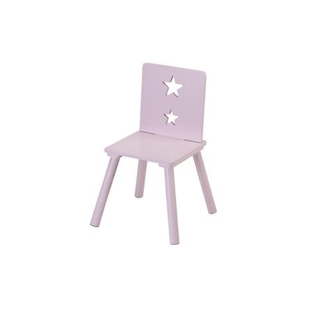 Kids Concept Krzesełko z Gwiazdkami Różowe