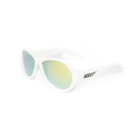 Babiators Okulary Polarized Wicked White z Żółtymi Szkłami