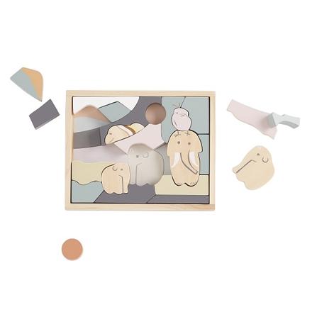 Kids Concept NEO Puzzle Drewniane Animal