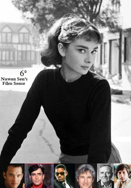 Six Degrees of Separation  Audrey Hepburn to   No