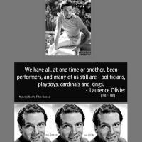 Quoting Quotes of the Brilliantly Famous – Laurence Olivier