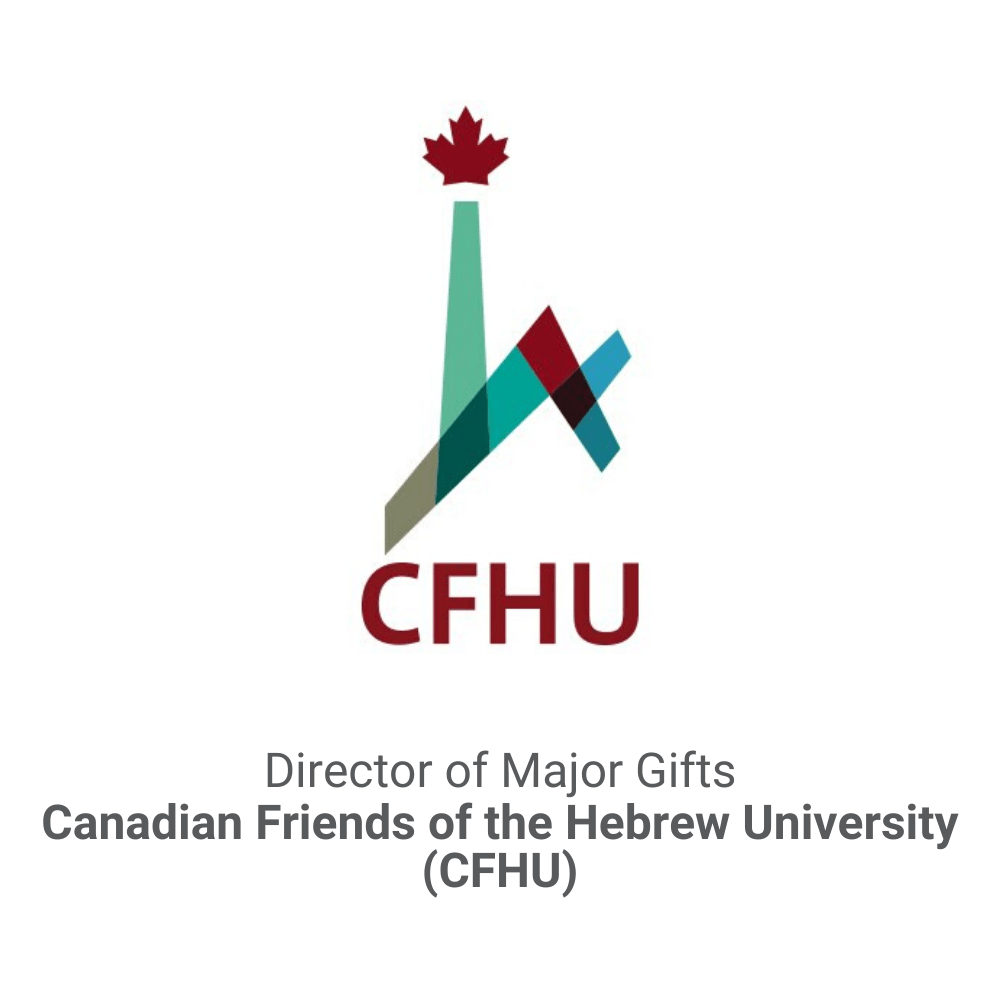 Director of Major Gifts Executive Search_Canadian Friends of the Hebrew University DB&A Executive Search