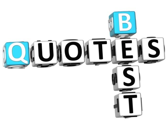 3D Best Quotes Crossword