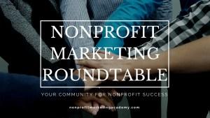 Nonprofit Marketing Roundtable