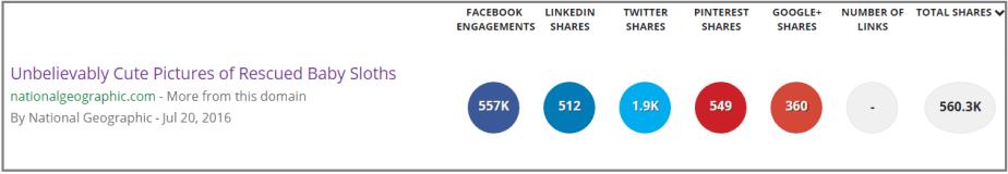 Social Media Shares for Nonprofits