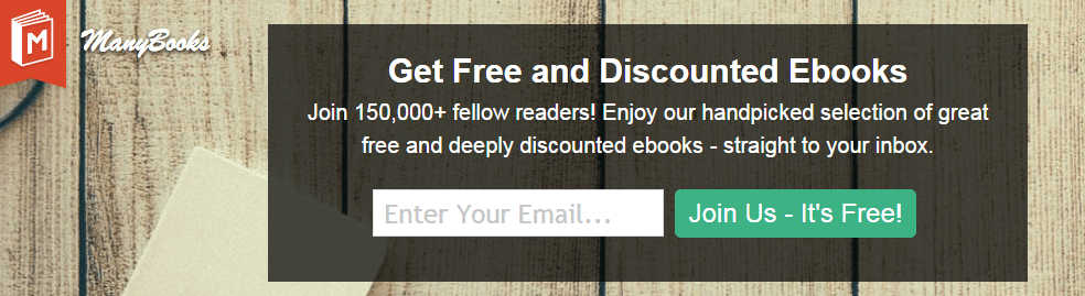 manybooks email subscription