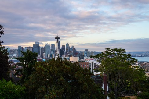 Kerry Park in the morning