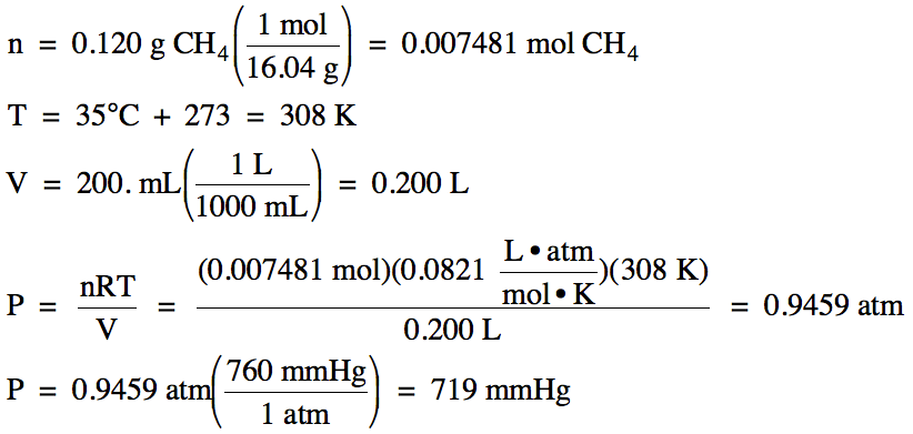 Section 52 Gas Stoichiometry