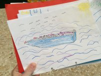 drawings of refugee children 4