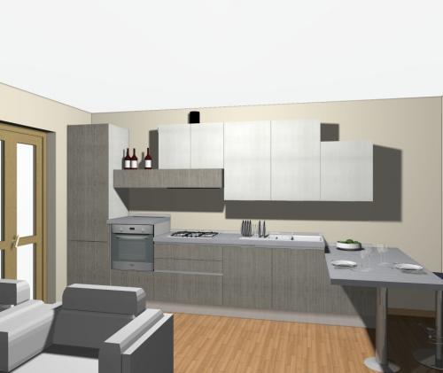 Veneta Cucine  come comporre una cucina con isola o