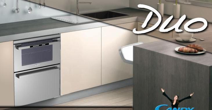 CANDY DUO  lavastoviglie e forno in soli 60 cm  Non