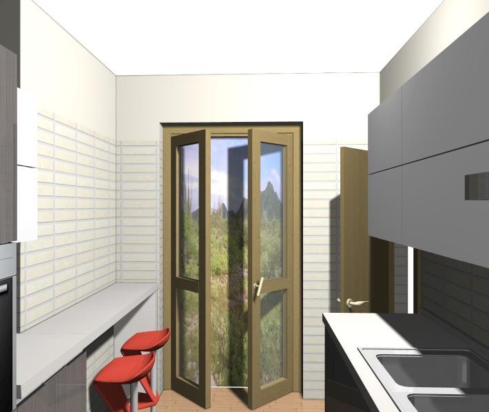 Idee arredo cucina lunga e stretta ecco la soluzione  Non solo mobili